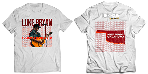 Luke Bryan Farm Tour Fort Wayne T-shirt